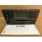 X-TYPE RADIO CD SILVER GREY C2S46372