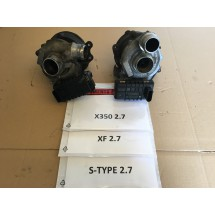 JAGUAR 2.7  TURBO PAIR FOR XF X350 & S-TYPE