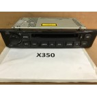 X350 RADIO CD C2C34886 WITH SATELLITE NAVIGATION